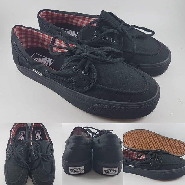 ... harga Sepatu kets vans zapato flannel classics canvas full black hitam  Tokopedia.com 0828b19001