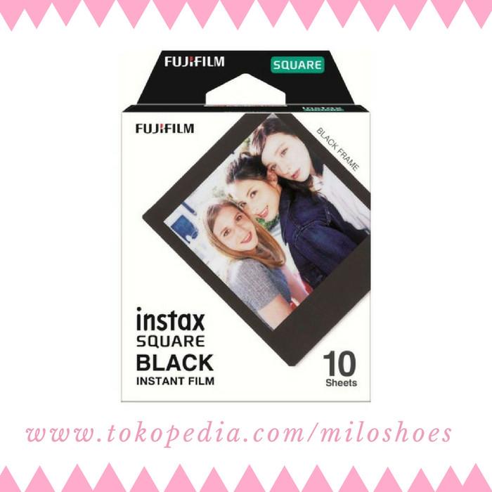 harga Isi refill instax square sq black - isi 10 lembar Tokopedia.com