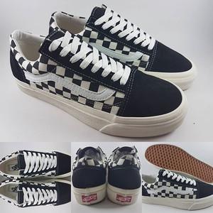 Jual Sepatu Kets Vans Old Skool OG Checkerboard Black White Hitam ... 000fcba1f9