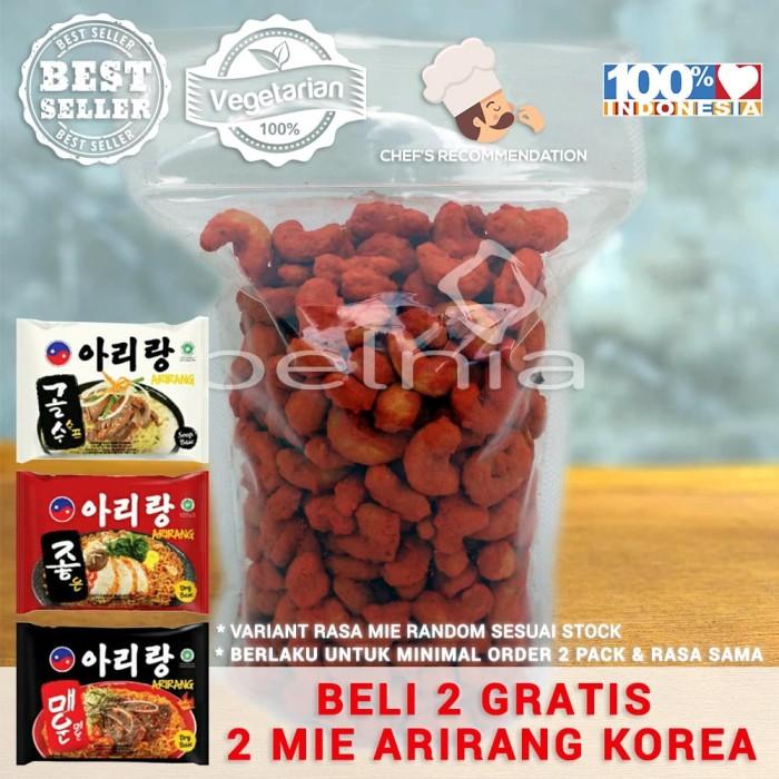 Kacang Mete Mede Utuh Cashew Nut EXTRA Pedas Premium 500 gram