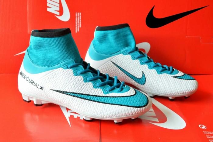 separation shoes 0a19e 87a4a Jual sepatu sepak bola pria nike mercurial high white tosca - Kota Bandung  - Djaya Footwear Bandung | Tokopedia