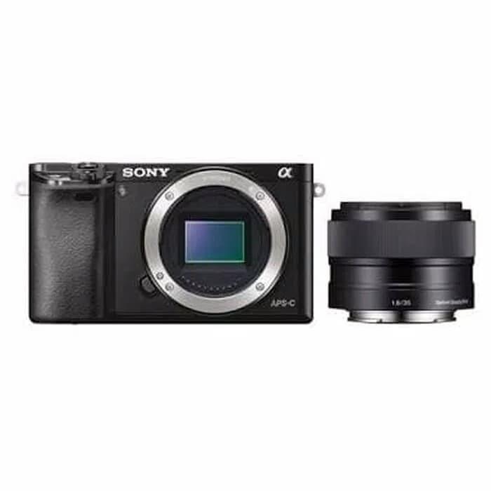 harga Sony a6000 (body) paket e 35mm f1.8 oss resmi sony indonesia Tokopedia.com
