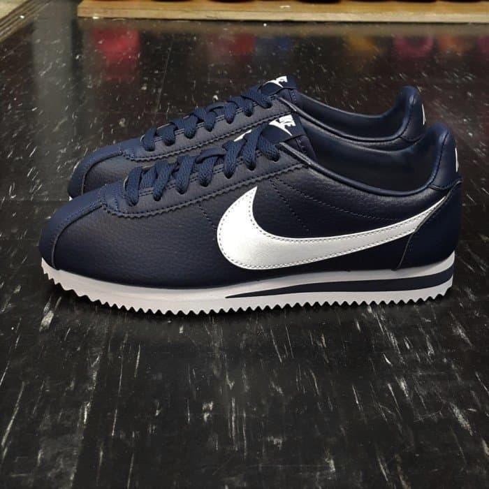 brand new 62876 662e7 Nike Classic Cortez Leather Navy ORIGINAL Sneaker for Men