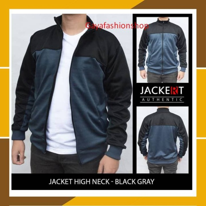 harga Sweater jaket pria jaket sport running olahraga lari casual grey blac Tokopedia.com