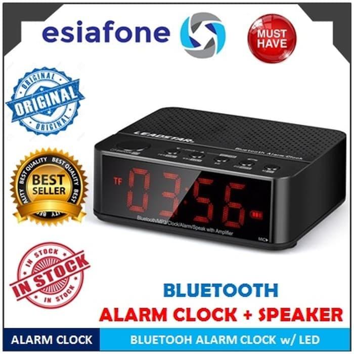 Jual Esiatec Desktop Bluetooth Speaker Alarm Clock With Led Kd 66 Kd