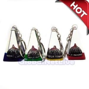 Gantungan Kunci Miniatur Candi Borobudur Limas - Souven PROMO