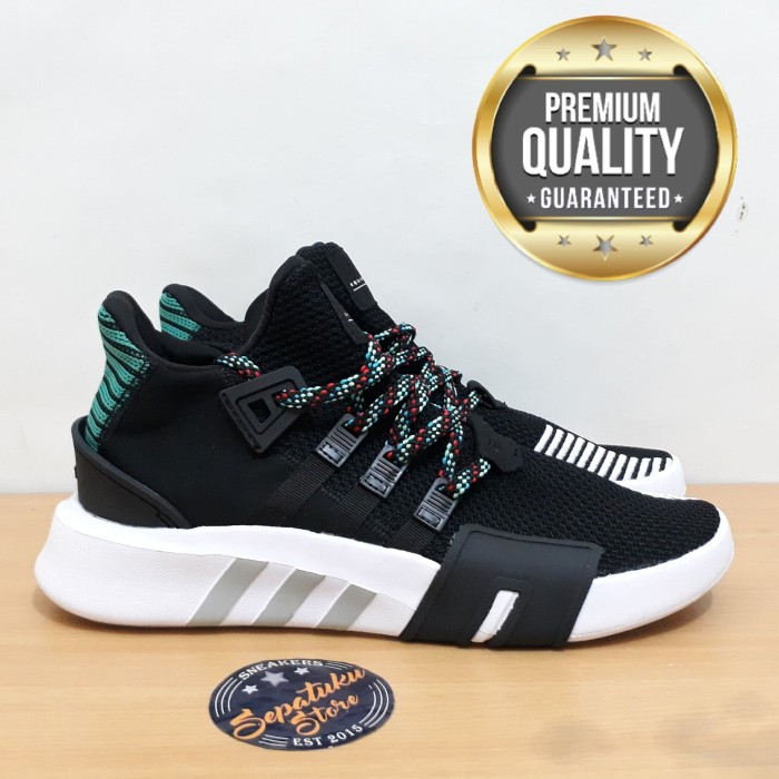 new photos 62563 35f3a Jual Sepatu Adidas EQT Support ADV Bask / BasketBall Core Black Sub Green -  DKI Jakarta - Sepatuku Store | Tokopedia
