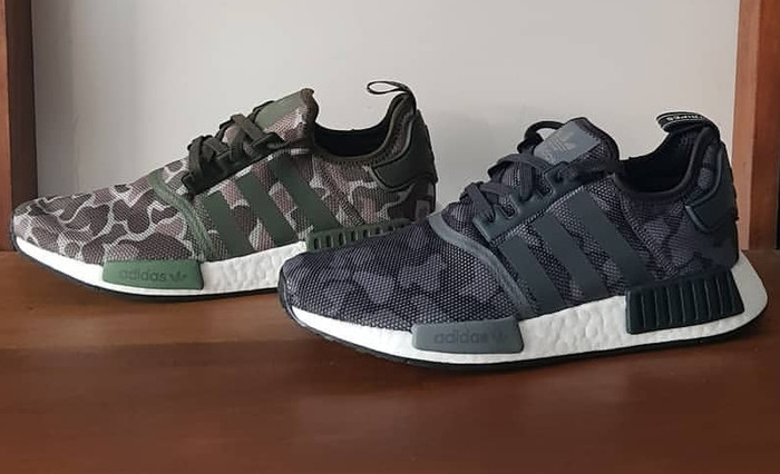 newest 6cdb6 7a701 Jual Adidas NMD R1 Camo Army , Camo Black Reflective laces! 100% ORIGINAL -  Jakarta Timur - Sam Sneakers | Tokopedia