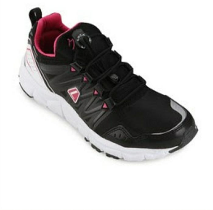 Sepatu league kumo w running shoes cewe sepatu lari ringan murah promo -  Hitam 243033ea5c