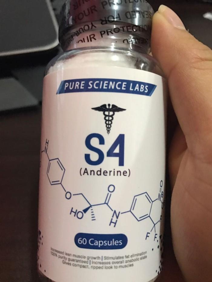 Jual SARMS SARM ANDARINE S4 pure science labs 60 caps - DKI Jakarta -  Papilio Style | Tokopedia