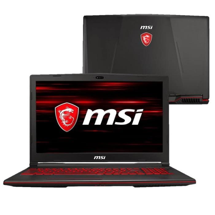 harga Msi notebook gaming gl63 8rc - black Tokopedia.com
