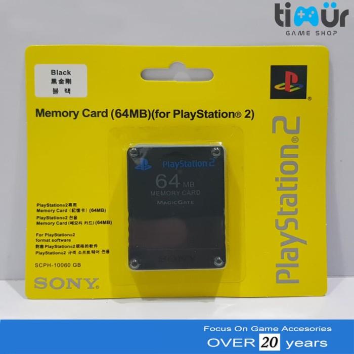 harga Memory card mc ps2 64mb hitam Tokopedia.com