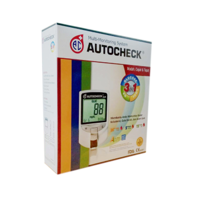 Autocheck Alat Ukur Kesehatan 3 In 1 meter - Hitam