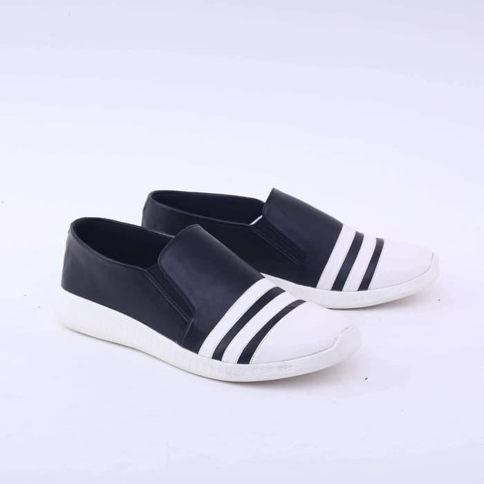 harga Garsel sepatu casual wanita dewasa hitam putih gyt 5453 Tokopedia.com