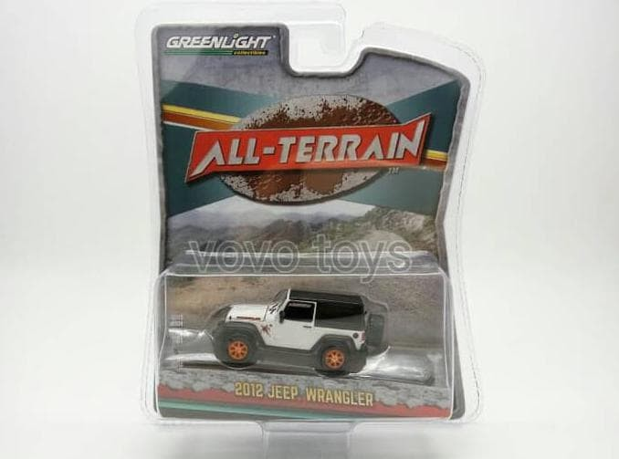 Produk Terlaris - Greenlight 1:64 All-Terrain Series 2 - 2012 Jeep