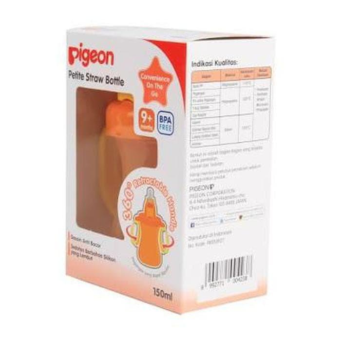 Jual Beli Termurah Berkualitas Murah Pigeon Petite Straw Bottle 150ml Botol