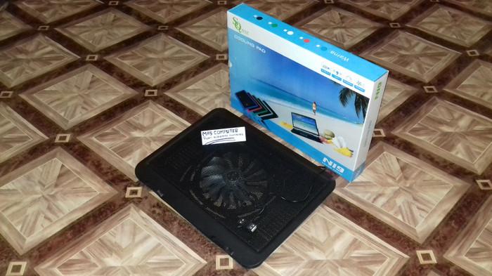 Foto Produk Kipas laptop/Cooling Pad N19/ Coolfan/Cooler Fan Notebook - Hitam dari ristafam