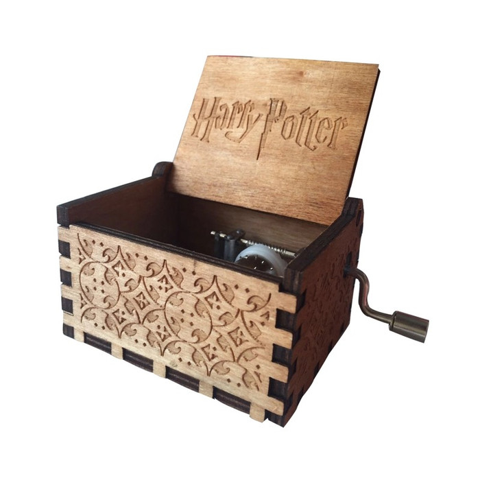 harga Kado hadiah ulang tahun music box kotak musik harry potter Tokopedia.com