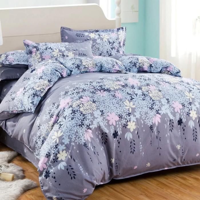 4Pcs Bedding Set Simple Floral Pattern Quilt/Duvet Cover - 150x200 Gift