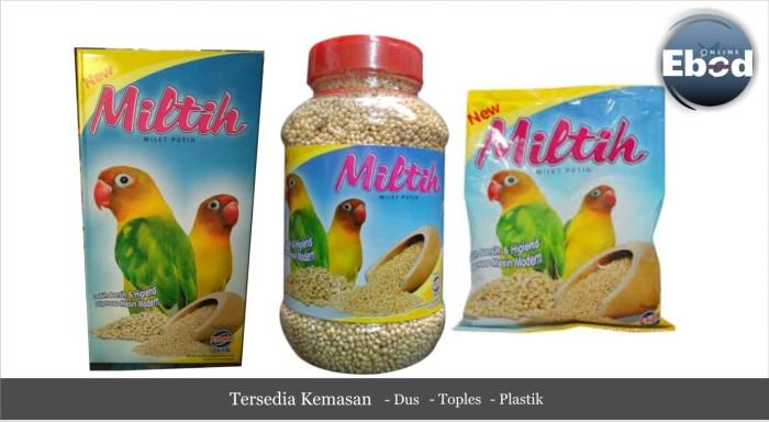 Cek Harga Baru Pakan Burung Lovebird Miltih Milet Putih Kemasan Source PAKAN LOVEBIRD .