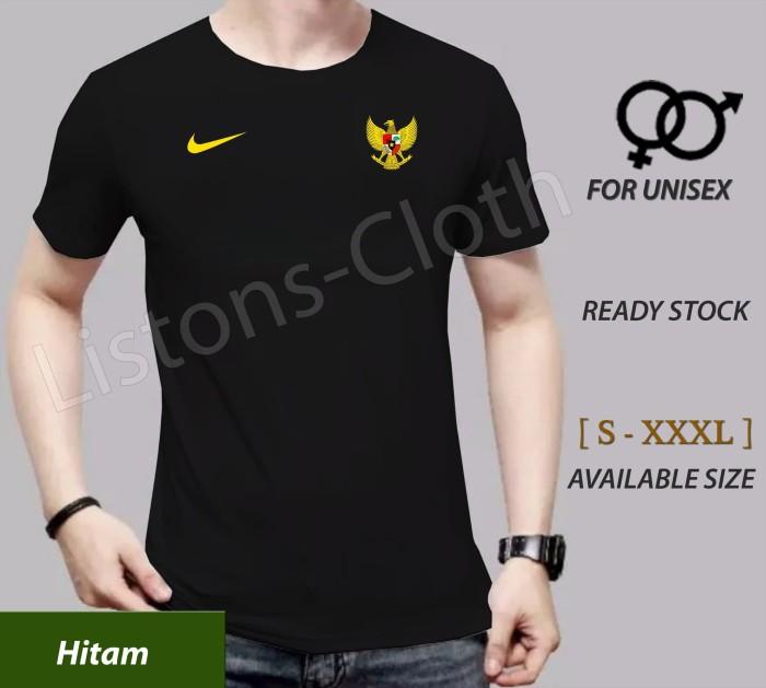 Foto Produk Kaos timnas indonesia garuda bukan Jersey bola hitam dari Listons-cloth