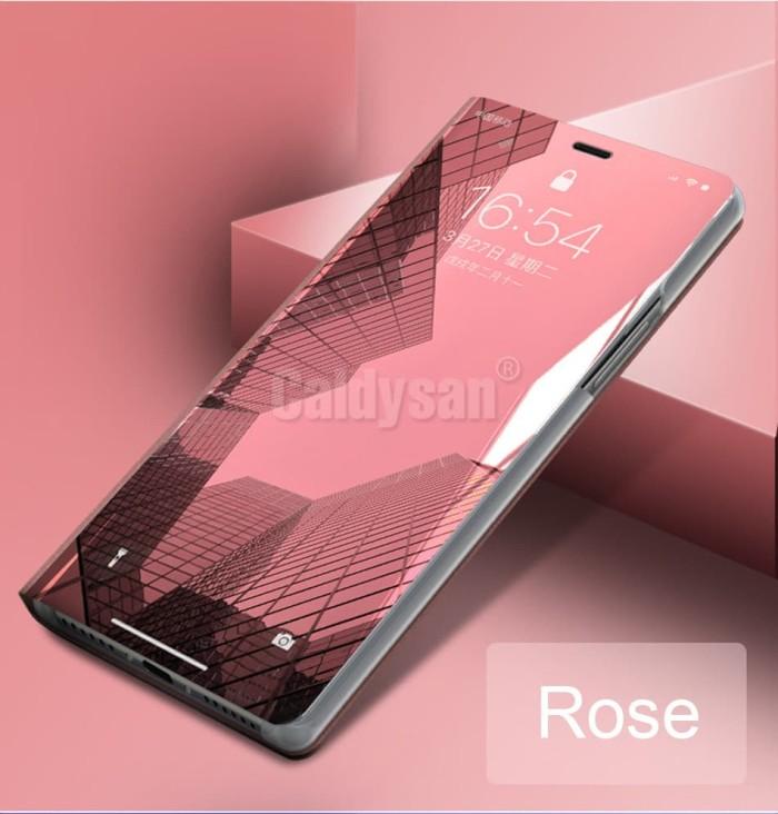 harga Iphone 6 6s /iphone 7 plus casing mirror flip cover standing auto lock Tokopedia.com