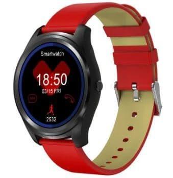 harga Smartwatch jam android z04 jam tangan smart watch cewek strap kulit Tokopedia.com