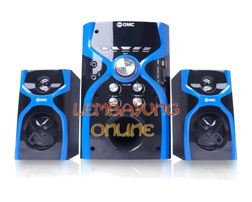 Gmc 887f Multimedia Speaker Bluetooth 21