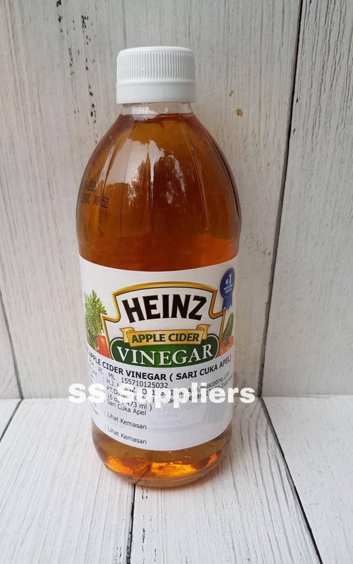 Foto Produk Heinz Apple Cider Vinegar / Cuka Apel 473 ML Best Seller! dari SS Suppliers F&B Jakarta