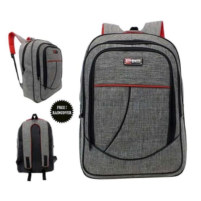 Tas Punggung Ransel Backpack Pria Polo Ball Matt Cordura Denim Saten -  Abu-abu Muda dc6d3d90bb
