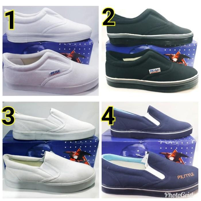 Sepatu px style sepatu canvas/sepatu pria wanita px style type 179