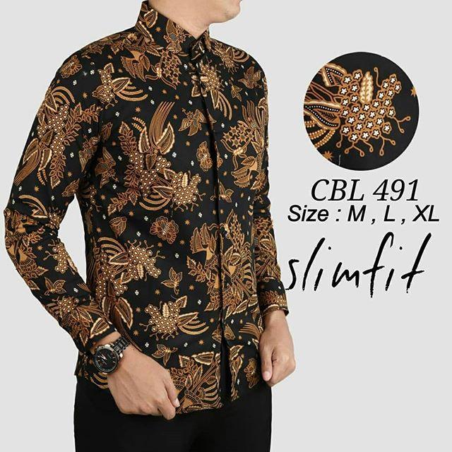 83 Gambar Baju Batik Pria Slim Fit Paling Hist