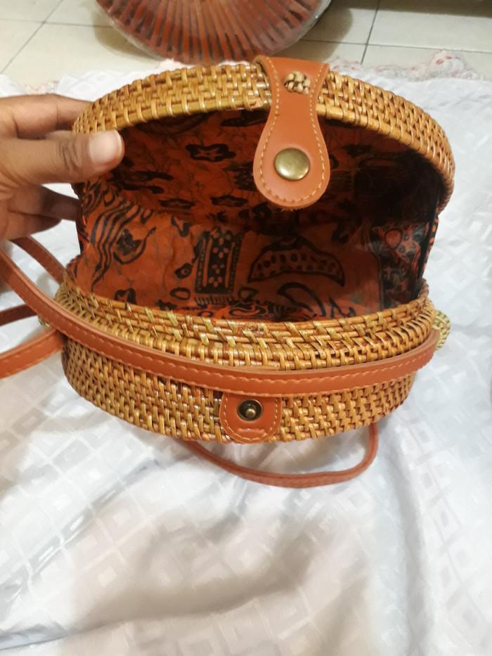 Tas Ata Tas Rotan Tas Full Ate 20 cm Murah handmade Lombok