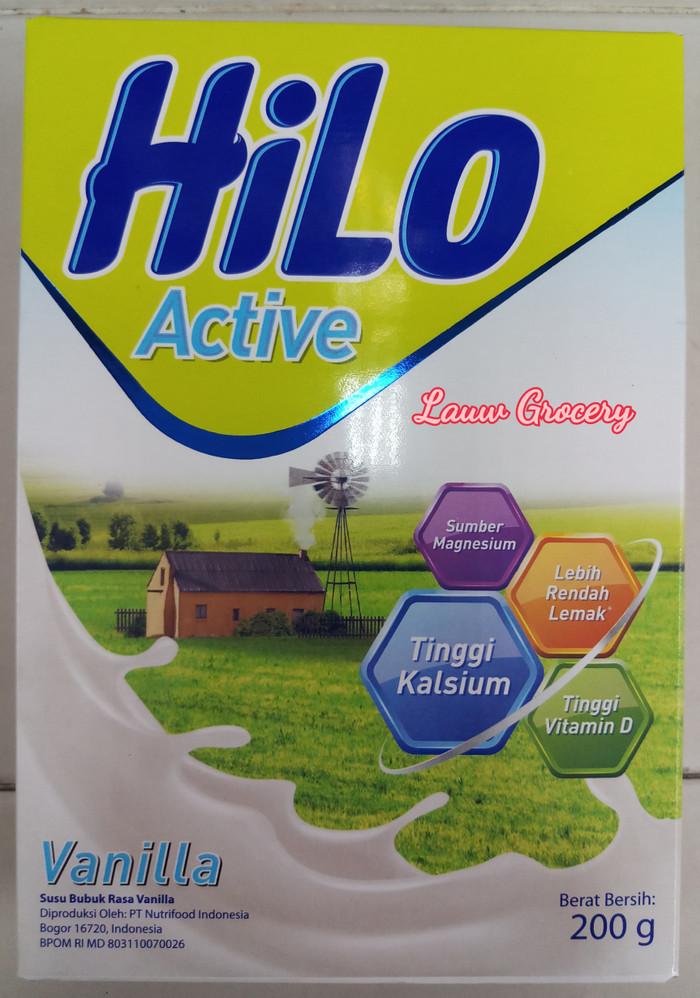 Katalog Susu Hilo Active Travelbon.com