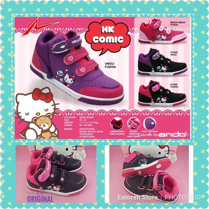 harga Sepatu anak perempuan ando hello kitty comic original Tokopedia.com