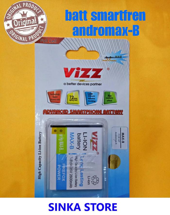 Battery Baterai Batre Double Power VIZZ Smartfren Andromax B