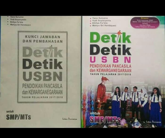 Buku Buku Detik USBN SMP PKN 2017/2018