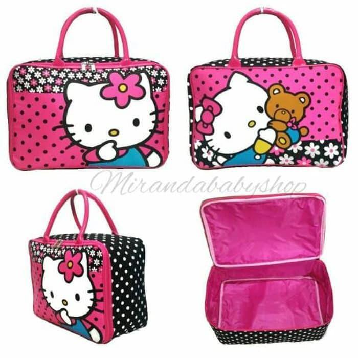 089d7e0986d9 Jual Termurah Berkualitas Tas Travel Hello Kitty Kanvas Tebal Koper ...