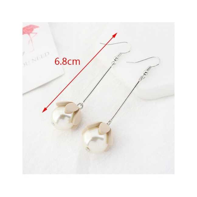 Lrc anting gantung lovely flower shape decorated earrings semok jpg 700x700 Lrc anting