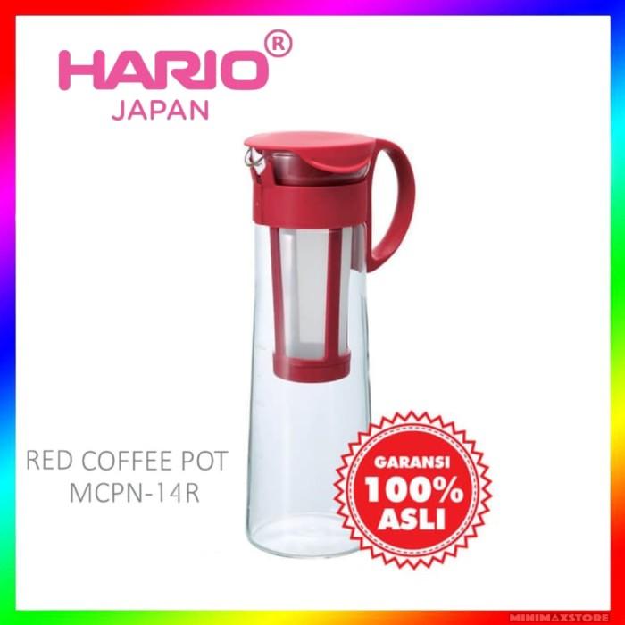 harga Hario mizudashi coffee pot red 1000ml mcpn-14 / mcpn14 Tokopedia.com