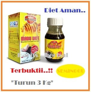 Madu Pelangsing Alami Madu Diet Langsing Ath Thoifah