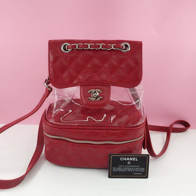 fe31bf8ccb86 Jual tas Chanel Transparent Vanity Flap Backpack - Kota Batam - JLO ...