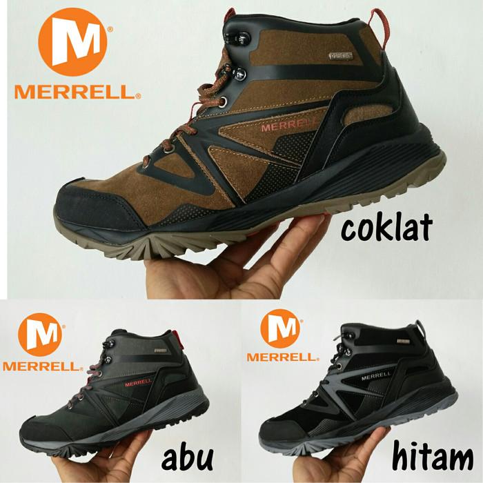 harga Sepatu gunung merrel tracking outdor vibram goretex Tokopedia.com