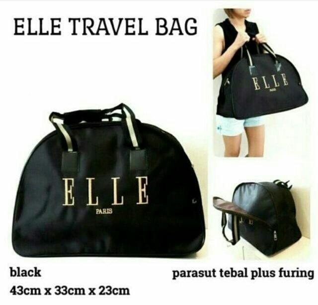 Jual tas wanita terbaru dan termurah Tas Travell ELLE ... 09408c895f
