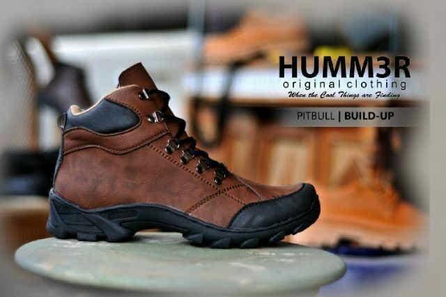 Jual T2105 Sepatu boot pria murah original hand made bandung hummer ... c321a22773