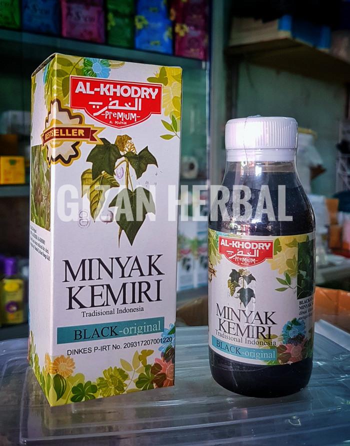 Minyak Kemiri Al Khodry Premium Penumbuh Penghitam Rambut