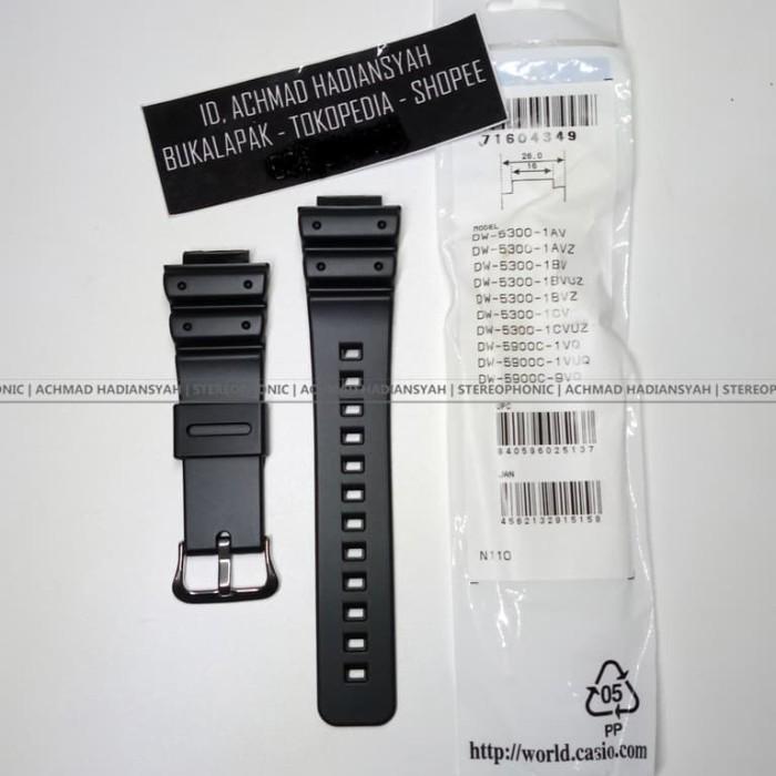 harga Original casio gshock band dw5300 strap gws5600 strap gwx5600 dw6900 Tokopedia.com