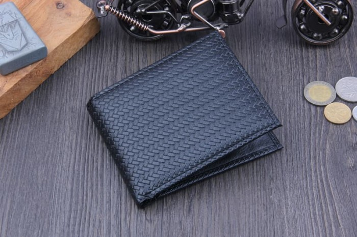 Foto Produk BREWYN MAQUIS mens wallet - dompet bifold pria - Hitam dari Toko 1973
