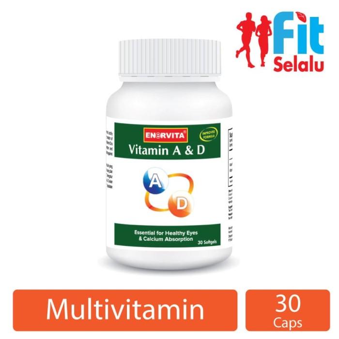 Vitamin A & D, kesehatan mata & penyerapan vitamin 30 Tablet-FS