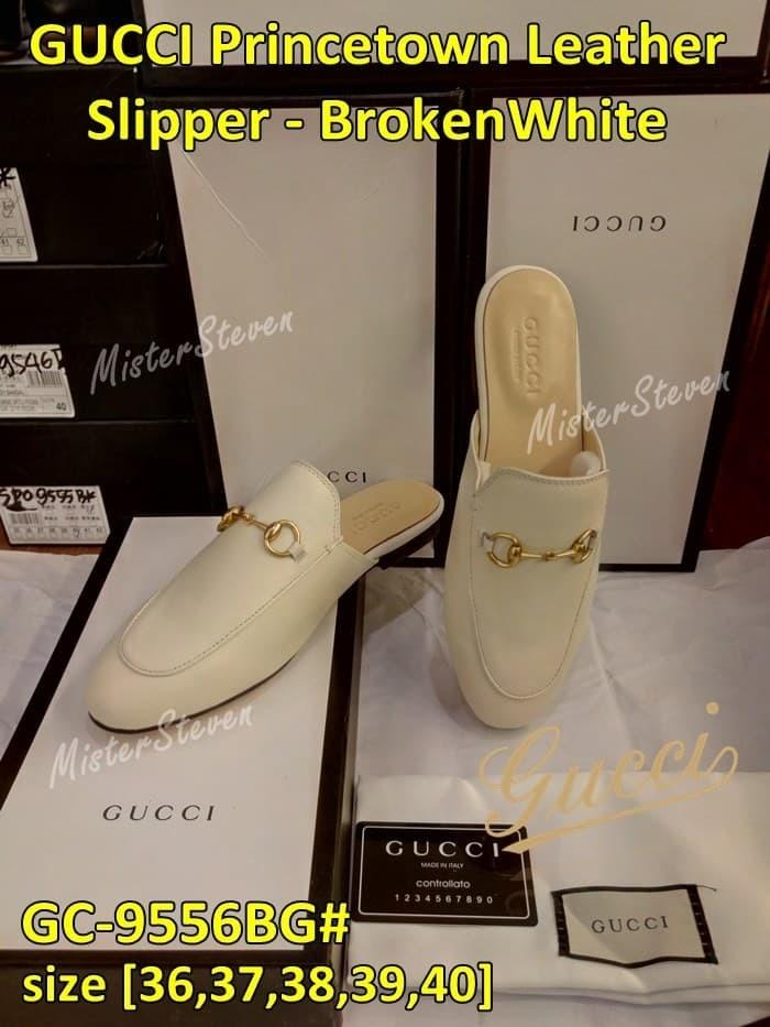 a1dfcef9935 Jual SALE!!! Sendal Wanita Mules GUCCI PrinceTown Leather GC-9556 ...